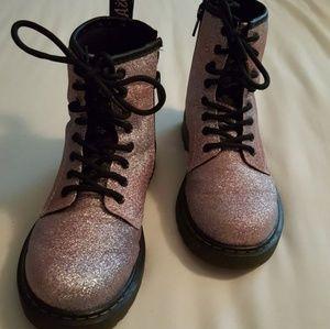 Little girls Dr Marten Boots